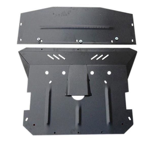 Защита КПП и Двигателя КИА Церато 2 (KIA Cerato II) 2008-2013 г (металлическая/увеличенная)