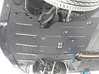 Защита КПП и Двигателя КИА Церато 2 (KIA Cerato II) 2008-2013 г (металлическая/увеличенная), фото 5