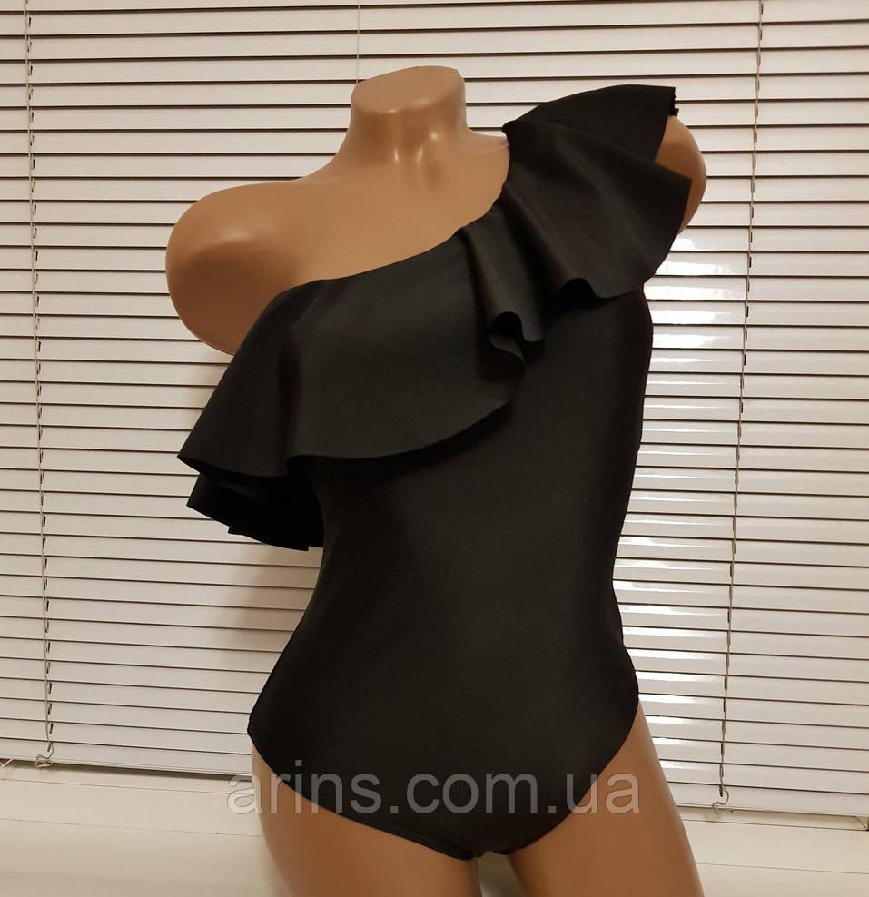 c106c7a3502f7 Женский слитный купальник с рюшей на одно плечо копия Victoria's secret  2019 - Интернет-магазин