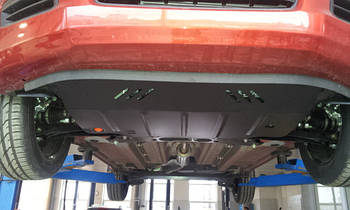 Защита КПП и Двигателя Лада Калина (Lada Kalina) 2004-2013 г (металлическая)