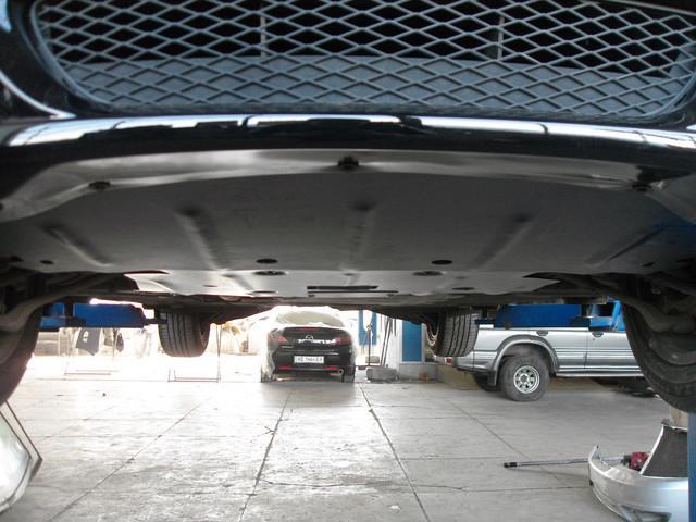 Защита под радиатор, двигателя и КПП на Мазда 3 I (Mazda 3 I) 2003-2009 г (металлическая/1.6/бензин)