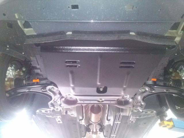 Защита КПП и Двигателя Мазда 6 III (Mazda 6 III) 2012 - ... г (металлическая/клепалки)