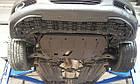 Защита КПП и Двигателя Ниссан Навара D40 (Nissan Navara D40) 2005-2015 г (металлическая/клепалки), фото 5