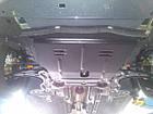 Защита КПП и Двигателя Ниссан Навара D40 (Nissan Navara D40) 2005-2015 г (металлическая/клепалки), фото 6