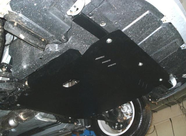 Защита КПП и Двигателя Ниссан НВ 200 (Nissan NV200) 2009 - ... г (металлическая)