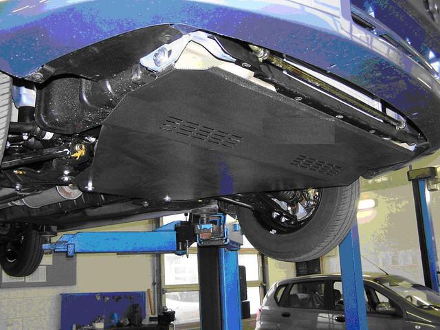 Защита мотора Ниссан Патрол (Nissan Patrol) 1997-2010 г (металлическая)