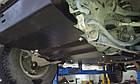 Защита КПП и Двигателя Пежо 607 (Peugeot 607) 1999-2010 г (металлическая), фото 4