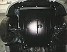 Защита дифференциала на Порше Кайен (Porsche Cayenne) 2002-2010 г (металлическая), фото 4