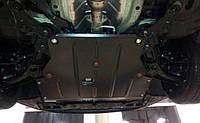 Защита КПП и Двигателя Рено Клио 2 (Renault Clio II) 1998-2008 г (металлическая)