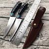 Нож ручной работы Дамаск