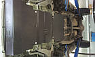 Защита КПП и Двигателя Тойота Авенсис Версо (Toyota Avensis Verso) 2001-2009 г (металлическая), фото 2