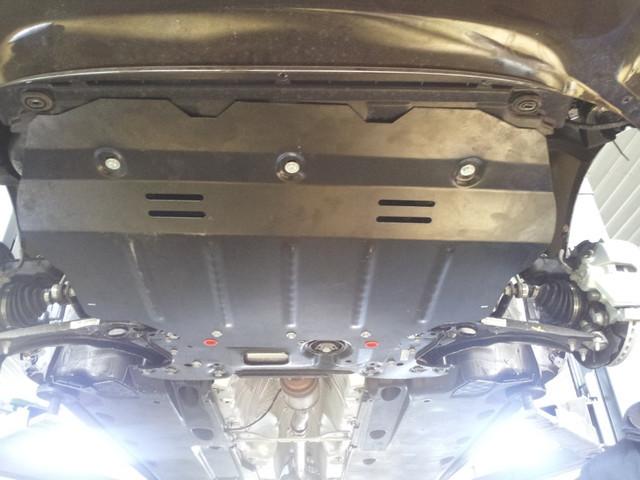 Защита под радиатор, двигателя и КПП на Тойота Камри (Toyota Camry) 2006-2011 г (металлическая/2.4)