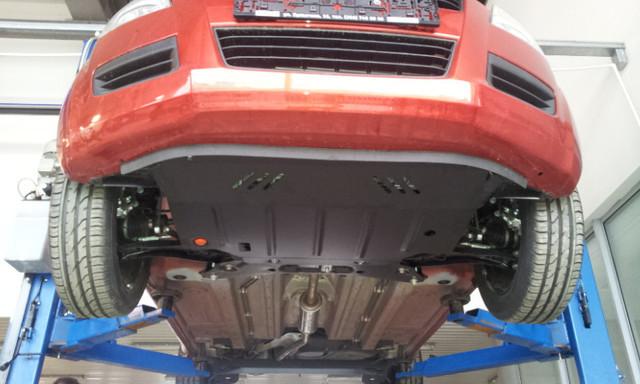Защита КПП и Двигателя Тойота Приус 3 (Toyota Prius III) 2009-2015 г (металлическая)