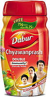 Дабур Чаванпраш 575 г. двойной иммунитет, Dabur Chyawanprash Double Immunity, Аюрведа Здесь