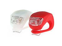 Силіконові габаритні Led ліхтарі 2 штуки Червоний і Білий