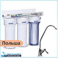 Польский фильтр для воды под мойку Leader MF3, фото 1