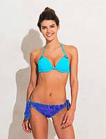 Голубой купальник push up, бразилиана Lormar Aqua 053 42 Голубой Lormar Aqua 053