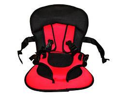 Детское Автокресло КРАСНОЕ Multi Function Car Cushion