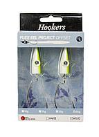 Набор джиг-головок 2 шт. Hookers 9х1,5см Серебро, Белый, Зеленый