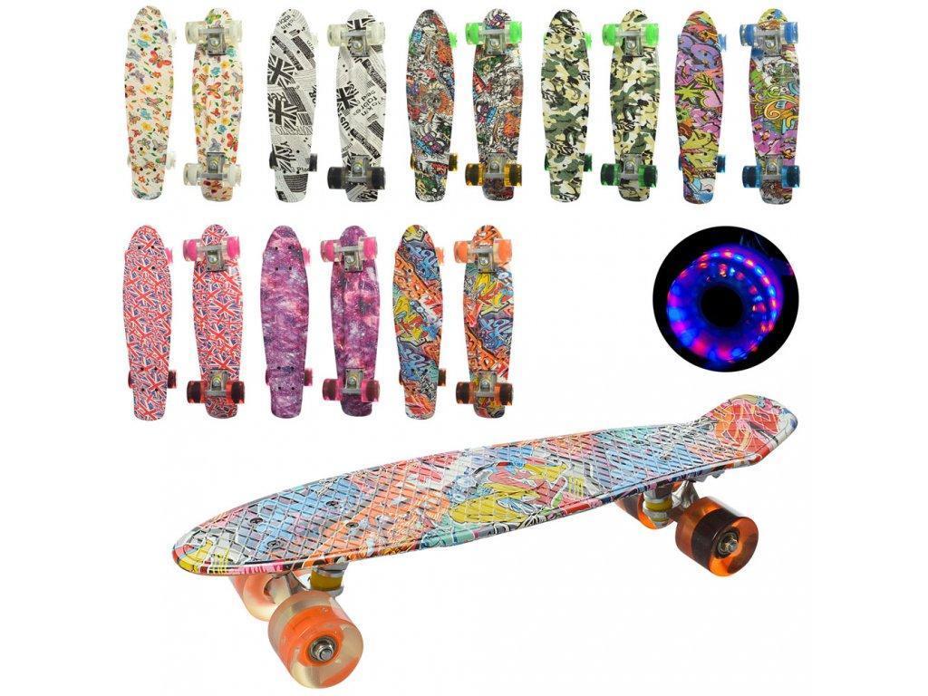 Скейт пенни MS 0748-8 подошваABEC-7