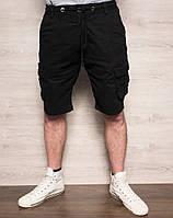 Шорты мужские с боковыми карманами черные X-FEEL 77876-1, фото 1