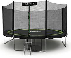 Батут с внешней сеткой Zipro Fitness 374 см