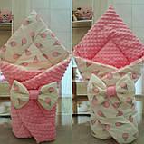 Двухсторонний конверт- одеяло  для новорожденных, весна/лето/осень, фото 5