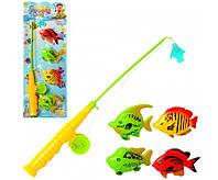 Игровой набор Рыбалка удочка, рыбки, фото 1