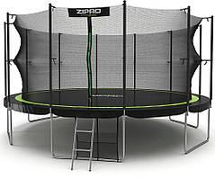 Батут с внутренней сеткой Zipro Fitness 496 см