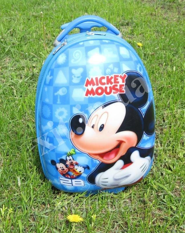 "Детский чемодан 16"" на колесах Mickey Mouse"