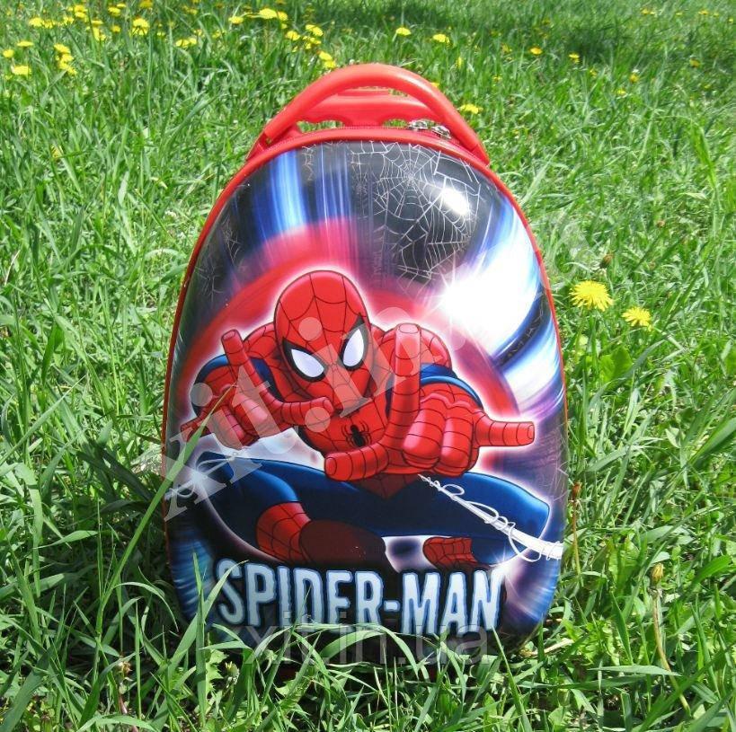 "Детский чемодан 16"" на колесах Spider-Man (Спайдер)"