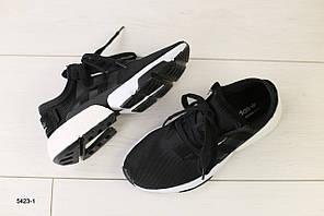 Женские кроссовки в сеточку, черный 36