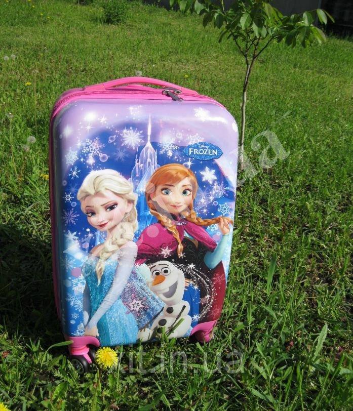 """Детский чемодан 20"""" на 4 колесах Frozen"""