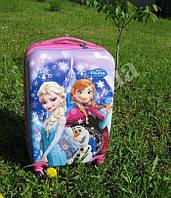 """Детский чемодан 20"""" на 4 колесах Frozen, фото 1"""