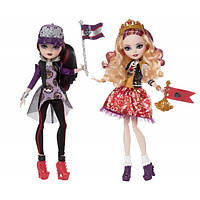 Кукла Эвер Афтер Хай Эппл Уайт и Рэйвен Квин Школьный дух - Apple White and Raven Queen School Spirit