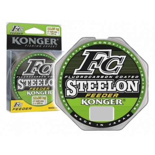 Леска Konger Steelon FC Feeder  0.28mm 100m зеленая