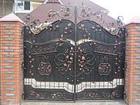 Ворота кованые образцы