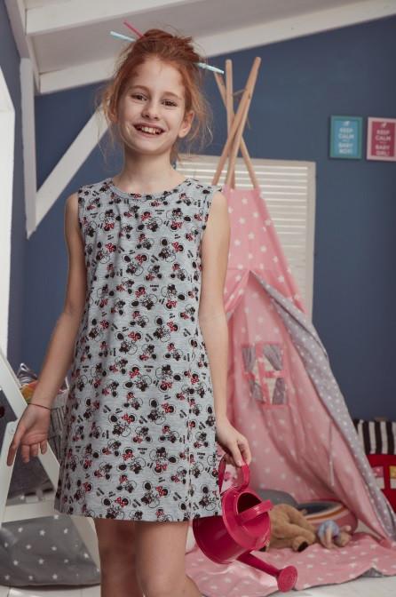"""Ночнушка детская для девочки """"Мышки"""", 2-3 года (рост 98-104)"""