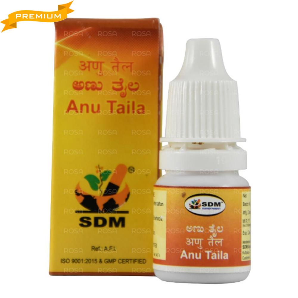 Ану Таил (Anu Taila, SDM Ayurveda Pharmacy), 5 мл - Аюрведа премиум класса