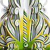 """Резная свеча """"Иисус Христос"""" Зеленая 13 см, фото 8"""