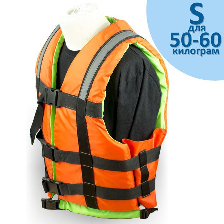 """Страхувальний жилет """"Glisser"""" розмір """"S"""" від 50 до 60 кг."""