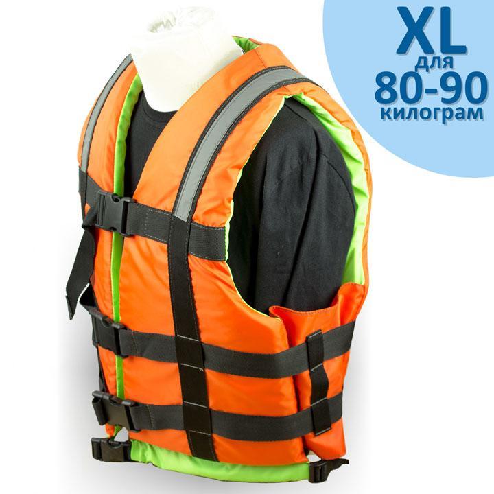 """Страховочный жилет """"Glisser"""" размер """"XL"""" от 80 до 90 кг."""