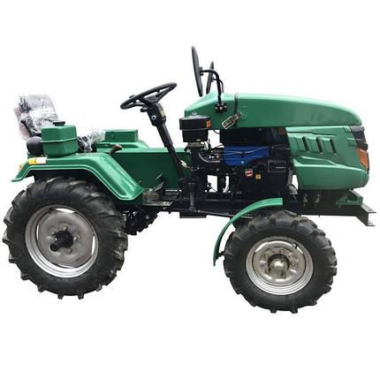 Трактор минитрактор дизельный DW 160LXL (15 л.с.), фото 2