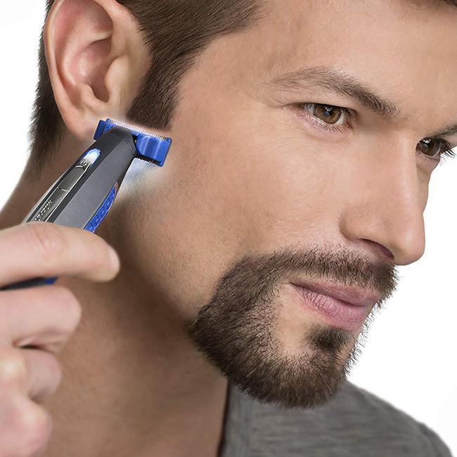 Аккумуляторный триммер для мужчин MICRO TOUCH SOLO, универсальный, 3 насадки