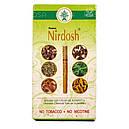 Аюрведические травяные сигареты-ингалятор Нирдош (Nirdosh Herbal Cigarettes, Maans), 10 штук, фото 2