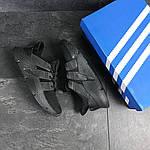 Мужские кроссовки Adidas (черные), фото 4