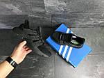 Мужские кроссовки Adidas (черные), фото 6