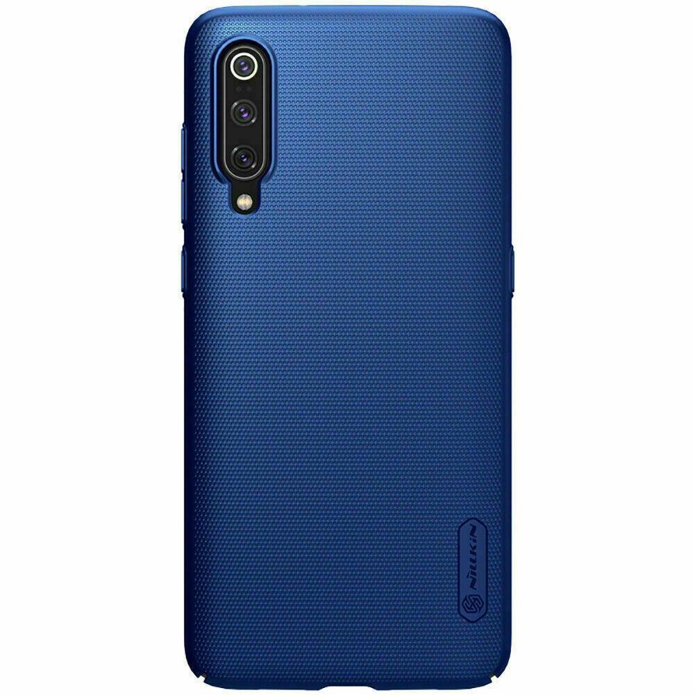 Nillkin Xiaomi Mi 9/ Mi 9 Explorer Super Frosted Shield Sapphire Blue Чехол Накладка Бампер