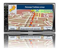 Автомагнитола с GPS навигатором FP-7080 Black/Multicolor MP5 ресивер, Fantom