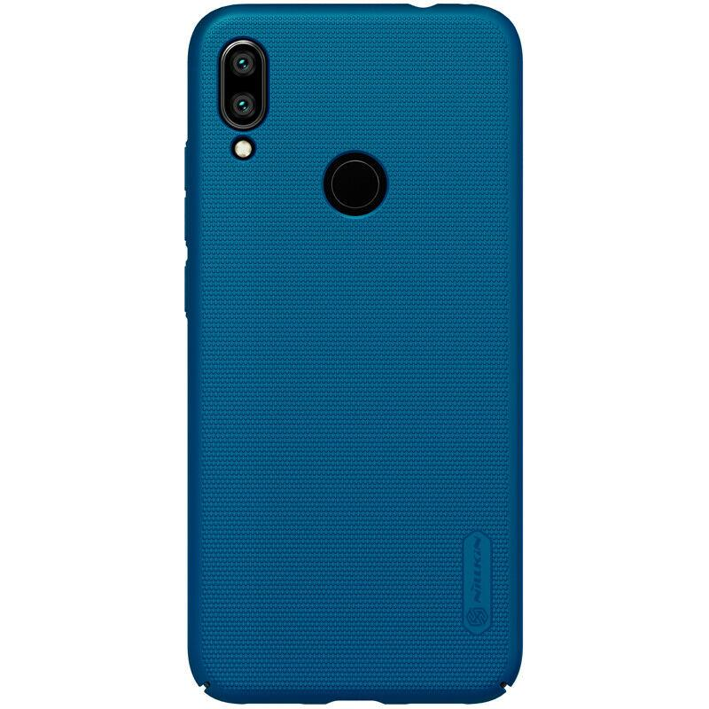 Nillkin Xiaomi Redmi Note 7/ Note 7 Pro Super Frosted Shield Peacock blue Чехол Накладка Бампер
